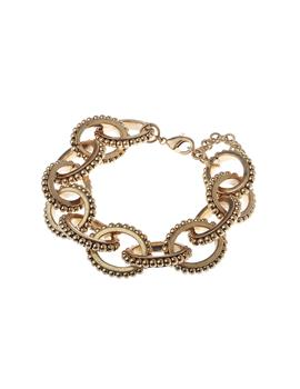 Worn Gold Link Chain Bracelet