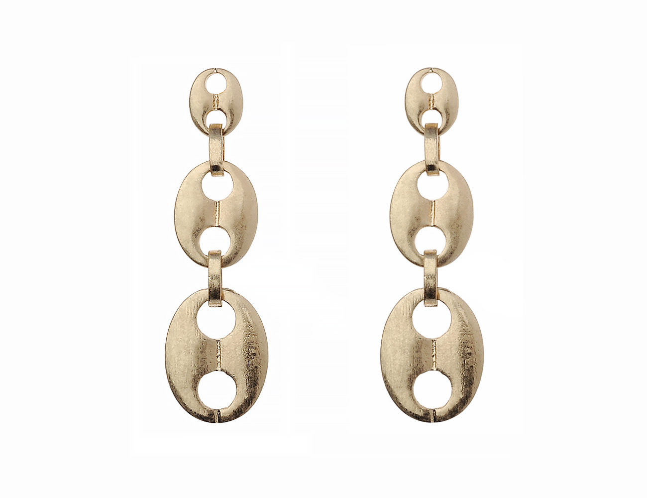 Worn Gold Earring